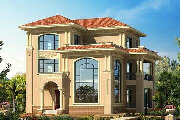 欧式三层复式自建别墅,高颜值,经济实用,适合一家人居住