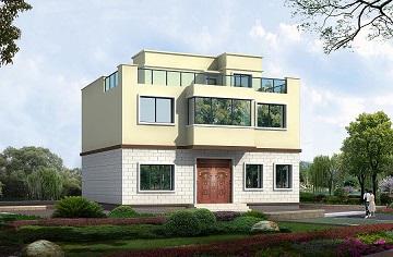 造价15万二层平顶小别墅,经济实用