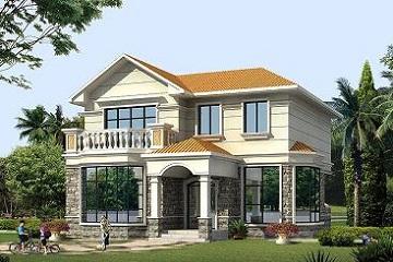 经典而层小别墅设计图,豪华户型,占地119㎡,经济实用