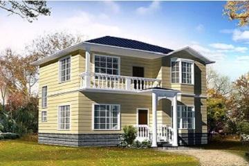二层中华田园风自建小别墅设计图,美观精致
