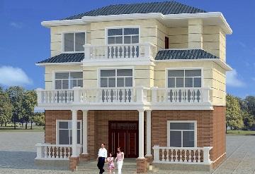 三层温馨小别墅设计图,含全套施工图纸,图纸齐全