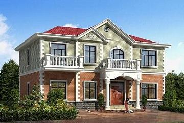 经典小别墅设计图,占地162㎡,美观精致