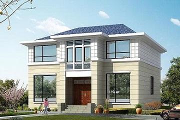 二层经典户型小别墅设计图,10*10米大众款小别墅