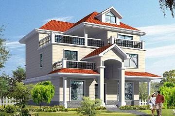 精致三层自建别墅,现代非常流行的自建房屋设计方案
