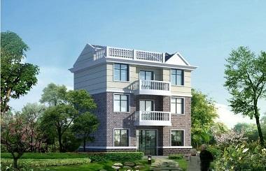经济实用的三层自建别墅设计图,美观精致,布局合理