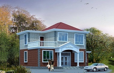 占地160㎡二层大众款小别墅设计图,15*11m