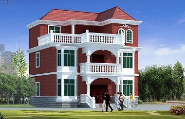 漂亮的三层自建房屋设计图,农村建房首选