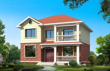 造价20万小别墅设计图,面宽11米,进深9米,占地110平方米左右,带工程量统计