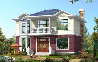 占地100平方米左右的二层自建房屋设计图,人气超高,户型完美