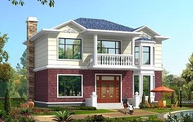 精致小巧的二层自建别墅设计图,打造温馨幸福家园不错的选择