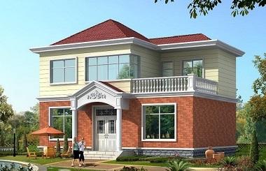 销量超高的二层自建别墅设计图,美观精致,经济实用