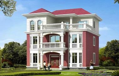 超高人气,超高销量的三层自建别墅设计图,既美观又实用