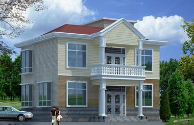 二层农村自建房屋设计图,经典小户型自建别墅