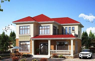 经典农村二层自建房屋设计图,美观精致,超高人气