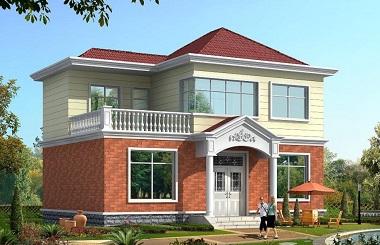采光好,人气高,性价比超高的二层自建别墅设计图