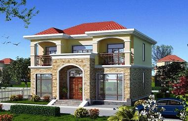 销量超高的二层自建别墅设计图,神户型,符合大众需求