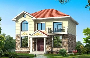 美观精致的农村自建房设计图,小户型,经济实用