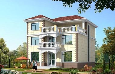 超高人气的三层自建小别墅设计图,内部布局完善