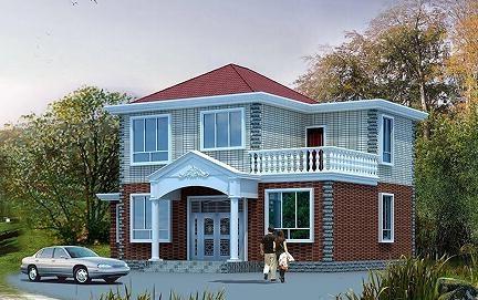 二层自建小别墅设计图,年度销量冠军附赠工程量统计