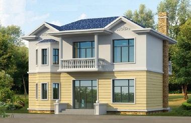 11*9米二层自建小别墅设计图,18万打造温馨居所
