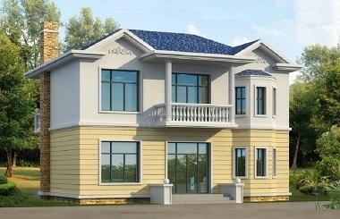 造价18万左右的二层自建房屋设计图,含全套完善施工图纸,布局完善,经济实用