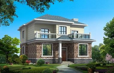 精品二层自建小别墅设计图,美观精致,符合大多数自建房要求