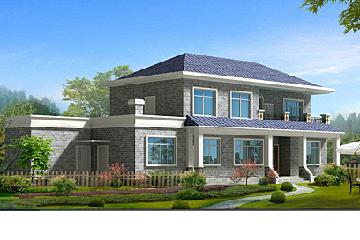 农村自建二层房屋图纸,简单大方,经济实用型设计方案