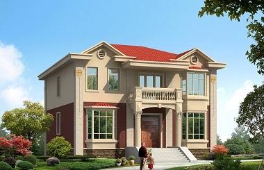 性价比超高的二层自建小别墅设计图,12*15米,经济实用,房间数量较多
