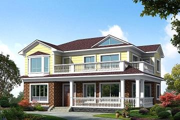 中式田园二层小别墅设计图,温馨美观,造价20万左右