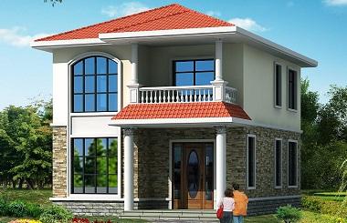 小户型二层自建房屋设计图,美观精致,小户型必选