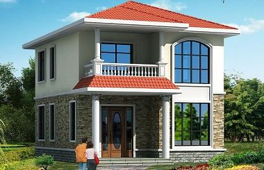 造价18万左右的小户型自建房屋,房间数量正可好,适合一家人居住
