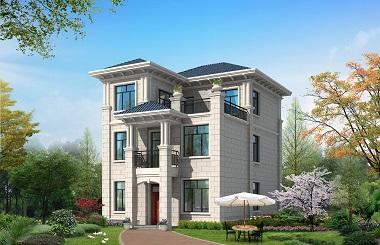 非常适合中年夫妻居住的一款三层自建房屋设计图,中规中矩,适合修身养性