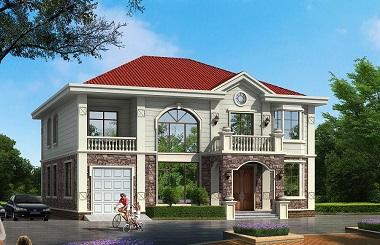 15*14m二层自建别墅设计图,美观精致,采光良好
