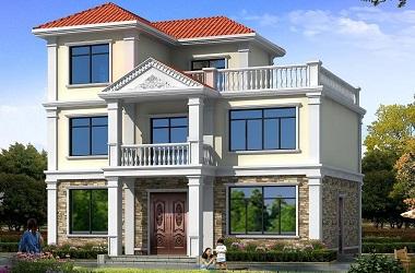 采光通风良好的三层自建房屋设计图,以实用为根本的经济型设计方案
