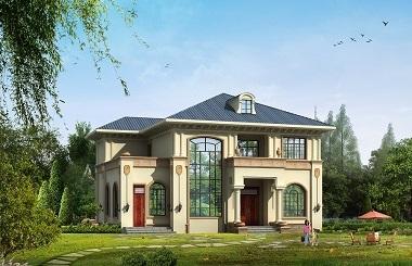 超高人气二层复式小别墅设计图,采光通风良好,造价合理,性价比超高