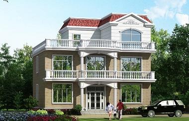 现代三层自建房屋设计图,经济实用