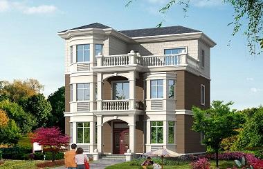 精品小户型三层自建房屋设计图,总占地面积89.47㎡,户型合理,小户型首选