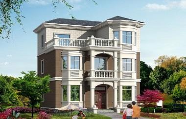 经典小户型三层自建房屋设计图,美观精致,经济实用