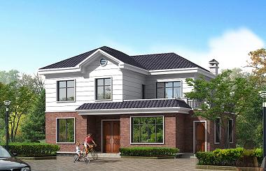 新中式二层自建房屋设计图,非常适合父母养老居住的一款设计方案