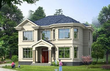 近几年非常流行的小户型自建房屋款式设计图,简单漂亮