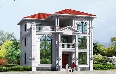 精品欧式三层复式别墅设计图,造价40万左右,美观实用