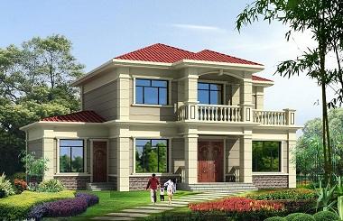 二层自建房屋设计图,美观实用销量超高