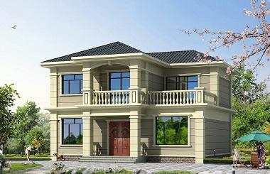 11.80m*10.60m小户型自建二层别墅设计图,新年爆款