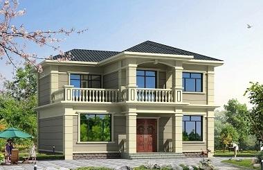简单朴实销量很高的二层小别墅设计图,户型合理完善,自建房首选