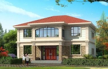 14.5m*11.6m二层自建房屋设计图,户型合理,销量超高