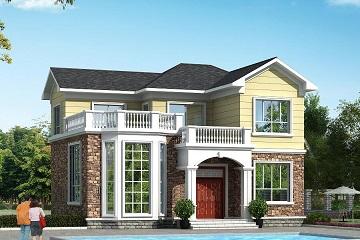 精品二层自建房屋设计图,美观实用,销量超高