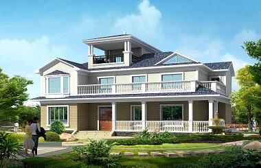精品二层半自建房屋设计图,占地200平方米,造价50万左右