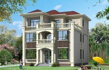 造价40万左右三层现代自建房屋设计图,布局完善,永不过时