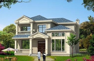 销量超高的现代简约2层房屋设计图,造价30万左右,美观实用