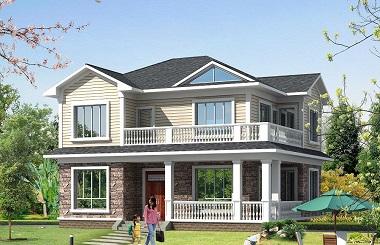 超受欢迎的海滨自建房屋设计图,清新美观,大众尺寸